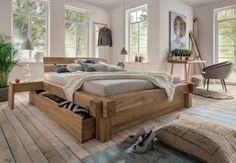 #balkenbett #schubladenbett #massivholz #massivholzbett #modern #massiv # Schlafzimmer #einrichtung