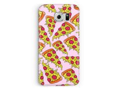 Samsung Galaxy S7 Case, Samsung S7 Cover, Pizza Phone Case, Pizza Samsung Case, S7 case, Pizza Lover Gift idea, Protective S7 Edge Case
