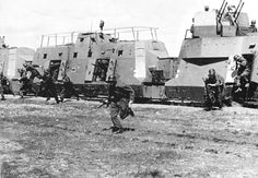 German armored train, 1941. Location Unknown.