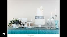 I just love this sweet table. Made bij Glitter Events, Sugarlips Cakes, Weddingdeco.nl and the Sparkle Company