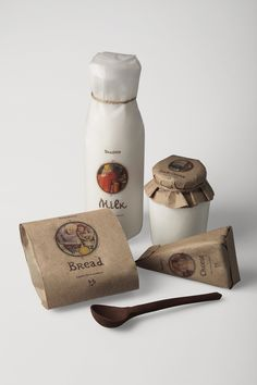 Brashno Dairy products by Arina Makhova