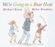 We're Going on a Bear Hunt (Walker story board books) by Michael Rosen, http://www.amazon.co.uk/dp/0744555728/ref=cm_sw_r_pi_dp_M8U4rb15SAR9G