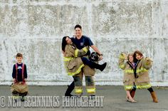 firefighter family picture  Photo Credit-New Beginnings Photography, Redding CA