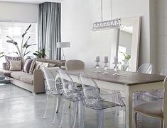 Un loft contemporain | CHEZ SOI Photo: ©TVA Publications | Yves Lefebvre #deco #loft #contemporain #ville #urbain #decor #salon #salleamanger