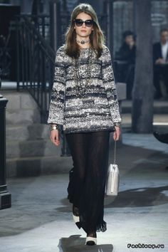 Chanel межсезонная коллекция на 2016-2017 год: практичная и очень красивая одежда высочайшего качества