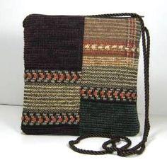 patchwoork sweater bag
