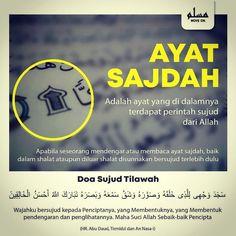 Ayat Sajdah Muslim Quotes, Religious Quotes, Islamic Quotes, Hijrah Islam, Doa Islam, Surah Al Quran, Muslim Religion, Amazing Inspirational Quotes, Learn Islam