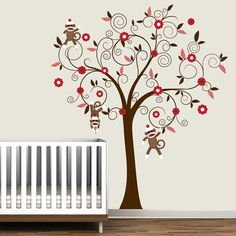Children Wall Decals Vinyl wall decal Tree with by Modernwalls, $99.00