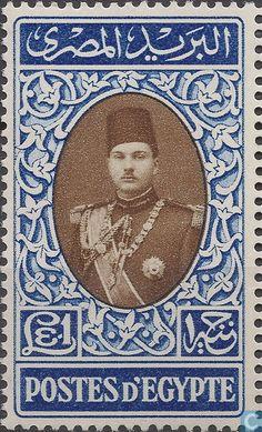 1939 Egypt (U.A.R.) - King Farouk