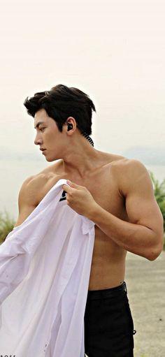 Ji Chang Wook Abs, Ji Chang Wook Healer, Ji Chang Wook Smile, Park Hae Jin, Park Seo Joon, Handsome Korean Actors, Handsome Boys, Jung So Min, Ji Chang Wook Photoshoot