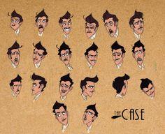 PEDRO PEREZ, Ilustracion y diseño: Produccion: THE CASE