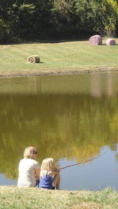 Faulkner's Ranch: Fishing on the Farm