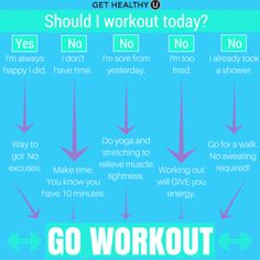 Should I workout today? | Repin to stay motivated!