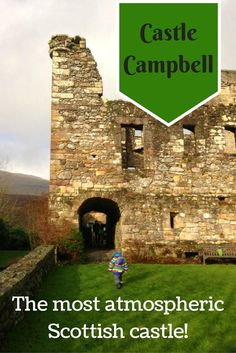 Castle Campbell, a must-see castle on any visit to Scotland, for it's stunning location alone! A trip to this Scottish castle should be on everyones itinerary.