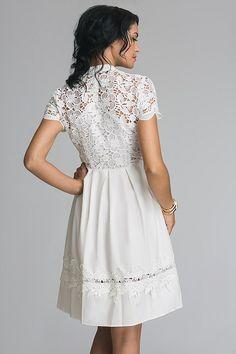 Платье Dolce and Gabbana (97192) - Интернет-магазин Z95 Beautiful Summer Dresses, Simple Dresses, Pretty Dresses, Short Dresses, Dresses For Work, Formal Dresses, Mesh Dress, Lace Dress, Royal Clothing