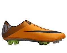 best cheap 01a46 67400 Nike Mercurial Vapor VII FG Orange Metallic Mens Soccer Cleats 441976-800.  eBay