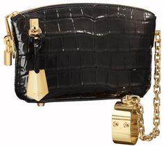 Louis Vuitton handcuff bag.