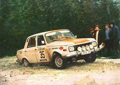 Einsatz des Wartburg 353 als Rallyewagen, hier Gries/Würfel bei der 20. Lombard R.A.C. Rallye 1971 in England