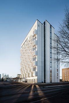Helsingin Viuhka. Vuosaari Arkkitehtitoimisto Konkret Oy