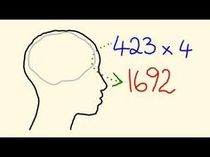 Mental Math Tricks - How to multiply in your head! - How can you multiply in your head? Mental maths is easy - using this trick to reprogram your brain to multiply quickly and easily. This lesson shows you tips on how to multiply faster than ever! Math For Kids, Fun Math, Math Games, Math Activities, Montessori, Math Strategies, Math Resources, Math Skills, Math Lessons