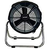 The included rack/stand provides rotation for multiple positions when drying surfaces or circulating air. A lightweight yet durable ABS injection molded housing allows this unit to be easily transportable and stackable up to 5 units. High Velocity Fan, Best Ceiling Fans, House Fan, Steel Racks, Janitorial Supplies, Stainless Steel, Household, High Speed