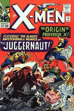 Uncanny X-Men # 12 by Jack Kirby & Frank Giacoia
