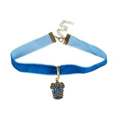 Harry Potter Ravenclaw Choker Hot Topic ($6.37) ❤ liked on Polyvore featuring jewelry, necklaces, long gold tone necklace, fake jewelry, blue necklace, long blue necklace and pendant necklaces