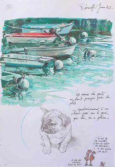 Watercolor Illustration, Watercolor Art, Pok, Art Journal Inspiration, Illustrations, Book Art, Graffiti, Contours, Drawings