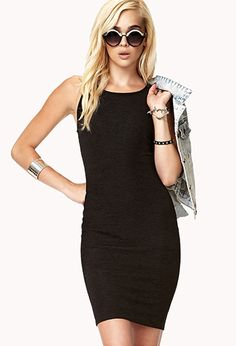 great for going out, or party. forever 21 mini body con dress
