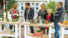 DIY Christmas Dinner Centerpiece - Home & Family