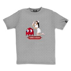 Tee-shirt Katsuni Nurse gris by #Otaku #tshirt #geek #sexy