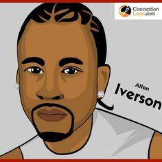 Allen Iverson - Cartoon Art - Caricature Picture