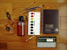 nature journaling supplies | camp creek blog @ project-based-homeschooling.com