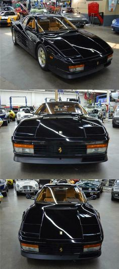1990 Ferrari Testarossa Huntington Station, Leather Interior, Tan Leather, Cars For Sale, Super Cars, Ferrari, Cars For Sell