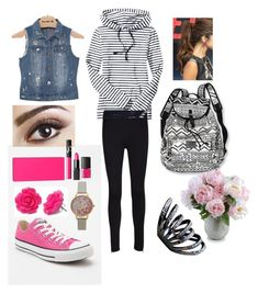 Nautically floral by jluu808 on Polyvore featuring polyvore, fashion, style, Old Navy, Celebrity Pink, rag & bone/JEAN, Converse, Olivia Burton, New Growth Designs, Victoria's Secret PINK, NARS Cosmetics and clothing