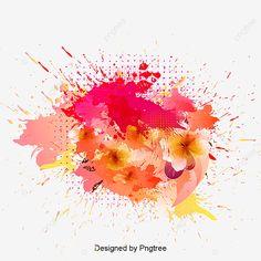 Watercolor Red, Watercolor Effects, Paint Splash, Color Splash, Brush Background, Splash Free, Gold Ink, Clipart Images, Prints For Sale