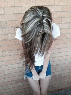 Amazing Silver Highlights! Images and Video Tutorials! ..... As I go gray early I should do this!! Make it look awesome!