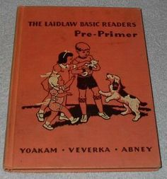 Children's Old Vintage School Laidlaw Primer Reader