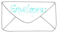 100 envelopes templates and tutorials.