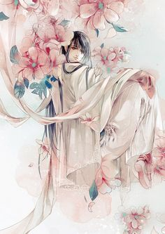 Mỹ nhơn và hoa cái nào đẹp hơn~~~~~ ><