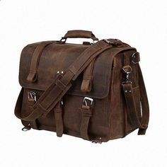 Cheap crossbody bag, Buy Quality bags handbags directly from China crazy horse leather Suppliers: TIDING Luxury Genuine Crazy Horse Leather Men Multi-function Shoulder Bag Handbag Cow Leather Laptop Crossbody Bag 2017 Briefcase For Men, Business Briefcase, Leather Briefcase, Messenger Bag Backpack, Laptop Bag, 17 Laptop, Large Bags, Leather Men, Luggage Bags