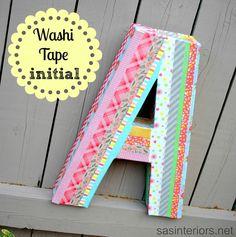washi tape decorar boda