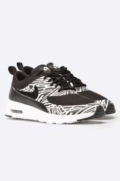best service 2e6e4 0a9ca Nike Sportswear - Pantofi Nike Air Max Thea Print negru 4941-OBD101