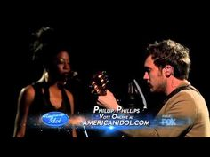"""▶ Phillip Phillips Volcano - Cover of Damien Rice's """"Volcano""""   In my opinion he was one of the few True artists that was Ever on American Idol.  He knew who he was and where he fit as in regards to type of music..he didn't compromise that for anyone or anything.  That year everyone was given a """"new look"""" from famous fashion icons and hair and the whole nine yards.  He still showed up in his T-shirt and blue jeans.  I really admired him for that.  As I said, he's a true artist. ♥"""