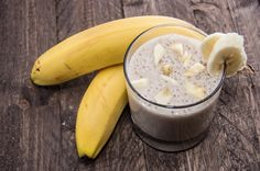 Shake proteico de banana