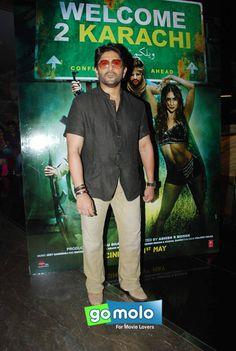 Arshad Warsi at the Trailer launch of Hindi movie 'Welcome To Karachi' at Fun Republic in Mumbai