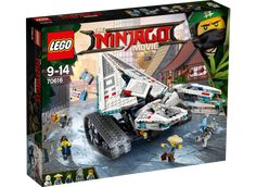 The LEGO Ninjago Movie : gros plan sur le set 70616 Ice Tank Ninjago Lego Sets, Lego Ninjago Movie, Lego Movie, Power Rangers, Legos, Iron Man, Minecraft Video Games, Lego Minecraft, Best Lego Sets
