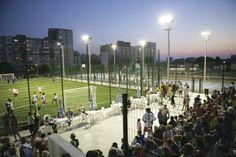 Profesjonalne ogrodzenie boiska