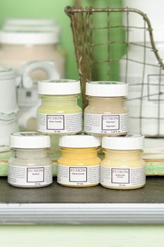 Fusion mineral paint is now available for ordering