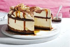 Save your coffee grounds and create something special with this tiramisu cheesecake that's like nothing you've ever had before.